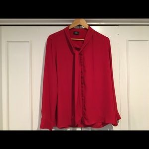 Bright red blouse- Mossimo